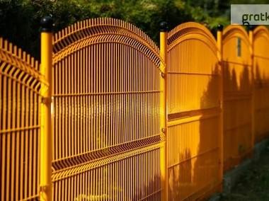 Panel ogrodzeniowy wypukły  150x250cm fi4mm ocynk+kolor-1