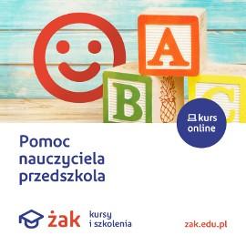 Pomoc nauczyciela przedszkola w Żaku
