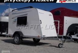 TP-041 Mini Camping, 253x110x125 cm, szyberdach, okna, podpory DMC 750kg