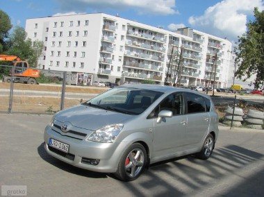 Toyota Corolla Verso III 2.0 D4-D-136 KM- 7 osób- ORYGINAŁ-SERWIS-zadbany--1
