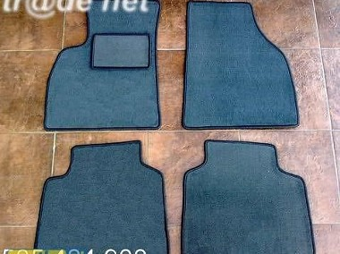 Hyundai Santa Fe 2001-2005 najwyższej jakości dywaniki samochodowe z grubego weluru z gumą od spodu, dedykowane Hyundai Santa Fe-1