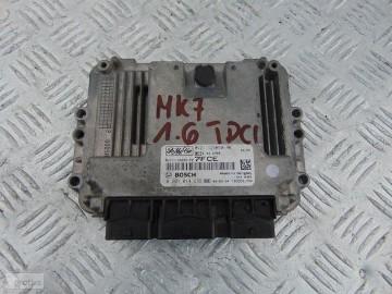 FORD FIESTA MK7 KOMPUTER 1.6 TDCI 8V21-12A650-PE 0281014989