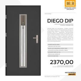 Drzwi wejściowe stalowe SETTO model DIEGO PLUS DIP