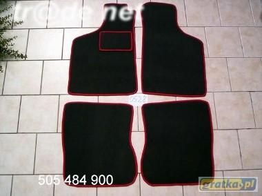 Fiat Uno 1983-2002 najwyższej jakości dywaniki samochodowe z grubego weluru z gumą od spodu, dedykowane Fiat Uno-1