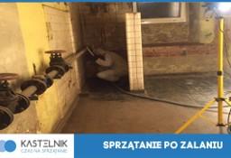 Sprzątanie po zalaniu Limanowa, Dezynfekcja, po wybiciu kanalizacji Kastelnik
