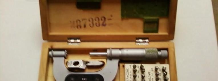 Sprzedam mikrometr do gwintów-1