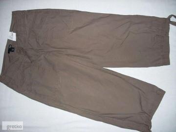 H&M Spodnie 3/4 Rybaczki Bojówki Spodenki j nowe 34 36 spodnie