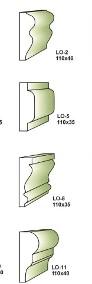 listwa obramienia okna nr 10 (15x4cm) ,sztukateria-4
