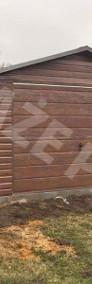 MONTAŻ GRATIS garaż blaszany drewnopodobny 4x6 brama uchylna PRODUCENT-4