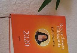 Kalendarz książkowy Rok ze Świętą Hildegardą na 2020 rok