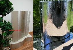 3w1 Fontanna ogrodowa nowoczesna, fontanna na taras FALA , eska h 120