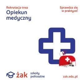 Opiekun medyczny nauka za darmo