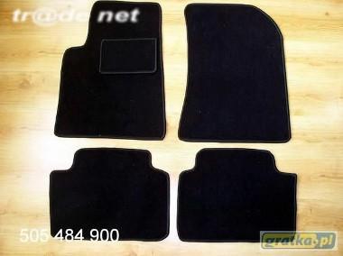 Renault Vel Satis IFL od 2005r. najwyższej jakości dywaniki samochodowe z grubego weluru z gumą od spodu, dedykowane Renault Vel Satis-1