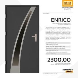 Drzwi wejściowe stalowe SETTO model ENRICO PLUS