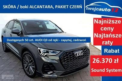 Audi Q3 II Sportback 35 TFSI, Manual, Skóra, Ambiente, ładny! 2021