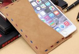 Śliczne Biznesowe Etui Koperta ze skóry na telefon Apple i inne