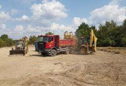 Usługi koparko ładowarką , Prace ziemne, Koparka, Wywrotka, Transport