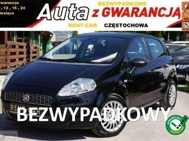 Fiat Grande Punto 1.4i*OPŁACONY Bezwypadkowy Klima*Serwis*GWARANCJA24Miesiące-1