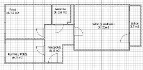 Mieszkanie na sprzedaż Kraków Prądnik Czerwony ul. Pawła Włodkowica – 50 m2
