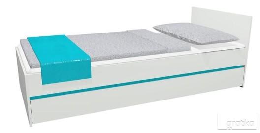 Łóżko młodzieżowe CITY 15 204x94 + MATERAC