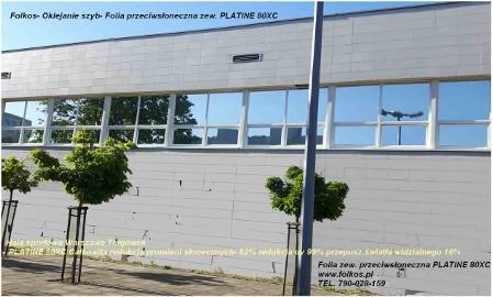 Folie przeciwsłoneczne blokujace promieniowanie podczerwone i ultrafioletowe Warszawa Oklejanie szyb