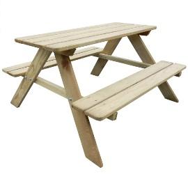 vidaXL Stół piknikowy dla dzieci 89 x 89,6 x 50,8 cm  274307