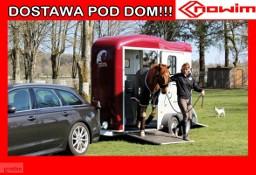 17.103 Nowim Debon Cheval Liberte Touring 2 Country Przyczepa do koni przewóz 2 koni transport zwierząt przedni trap aluminiowa Cheval ...