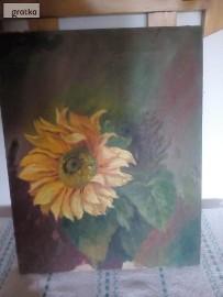 Obraz olejny słonecznik