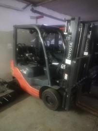 Wózek widłowy gazowy Toyota 8FGF18/Duplex/2014rok Cena netto 44,000 pln