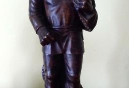 Rzeźba: Rybak - Lite Drewno