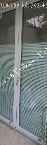Folie na ścianki działowe- Oklejanie szyb-Folie Paski, Kwadraty,Literk-4