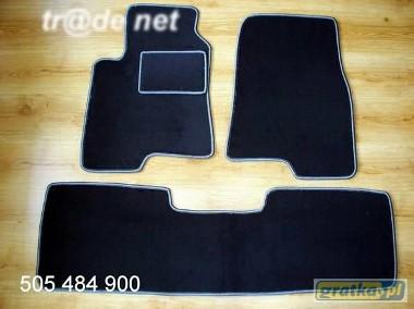 Mitsubishi Pajero III 2001-2007 3 drzwi najwyższej jakości dywaniki samochodowe z grubego weluru z gumą od spodu, dedykowane Mitsubishi Pajero-1
