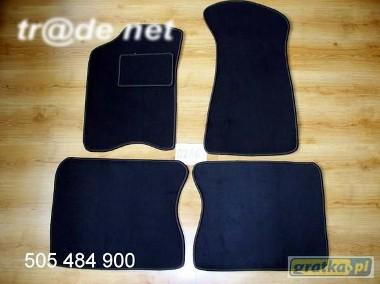 AUDI 90 1984 - 1991 najwyższej jakości dywaniki samochodowe z grubego weluru z gumą od spodu, dedykowane Audi 90-1