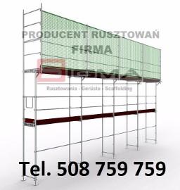 RUSZTOWANIA Producent 405m2 już od 14900 zł NOWE Rusztowanie