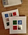 Kartki świąteczne z kopertami Marks & Spencer - 17 sztuk - nowe