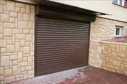 Brama garażowa rolowana dowolny wymiar.