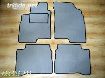 Kia Magentis I 2000-2005 najwyższej jakości dywaniki samochodowe z grubego weluru z gumą od spodu, dedykowane Kia Magentis
