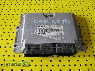 Komputer sterownik silnika Fiat Ducato 2.0 Jtd Fiat Ducato