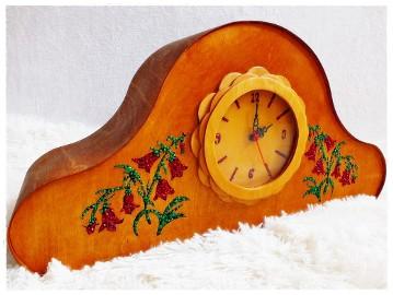 Zegar kominkowy z pozytywką Retro