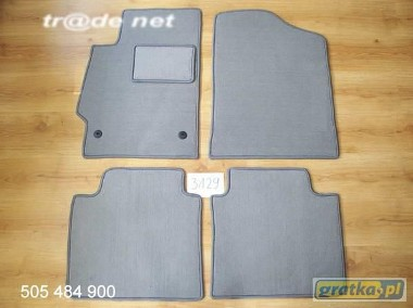 Toyota Camry od 2007r. najwyższej jakości dywaniki samochodowe z grubego weluru z gumą od spodu, dedykowane Toyota Camry-1