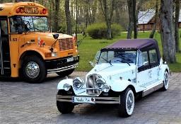 Luksusowe samochody do wynajęcia na wesele Zabytkowe auta na ślub Kabriolet