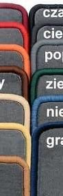 VW T4 MULTIVAN 7 osobowy najwyższej jakości bagażnikowa mata samochodowa z grubego weluru z gumą od spodu, dedykowana Volkswagen T-4-3