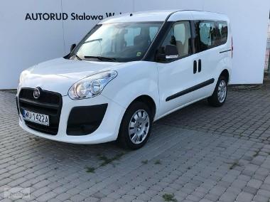 Fiat Doblo II 1.4 Benzyna 95KM 2x Drzwi przesuwne Klima Krajowy Serwisowany w ASO-1