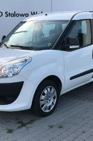Fiat Doblo II 1.4 Benzyna 95KM 2x Drzwi przesuwne Klima Krajowy Serwisowany w ASO-2