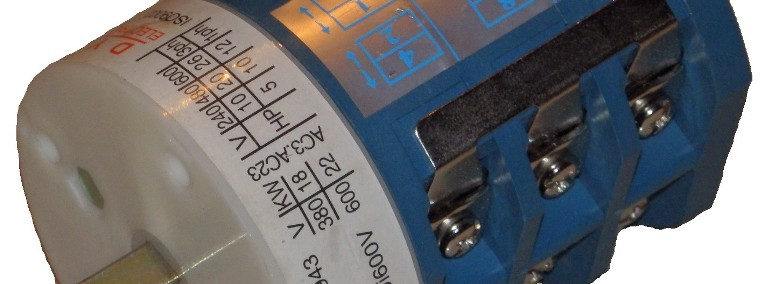 Przełącznik kierunku obrotów stołu montażownicy POM2 -1