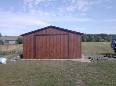 Garaże blaszane, hale, konstrukcja stalowa, wiaty.-1