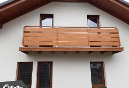 Balustrada SOLID Zewnętrzna Tarasowa Barierka Nowoczesna taras balkon