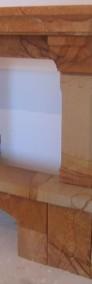 Kominki obudowy kominkowe rustykalne portale z piaskowca producent-3