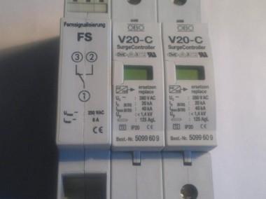 Ogranicznik przepięć; V20-C/2-fs-280 ; 2-pole fuse monitoring-1