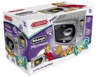 Kuchenka Mikrofalowa Mikrofalówka CASDON Delonghi dla dzieci kuchnia